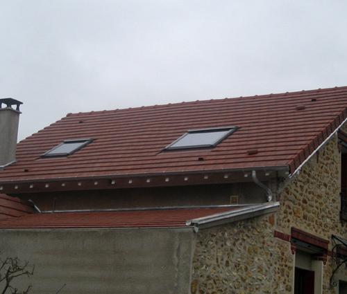 Rénovation toiture - Maison Asnières