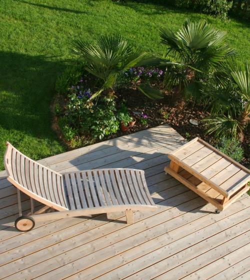 La Terrasse Maison Bois Colombes - Après