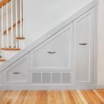 Améngement en tiroir sous escalier
